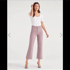 Seven for all Mankind  Cropped Wideleg
